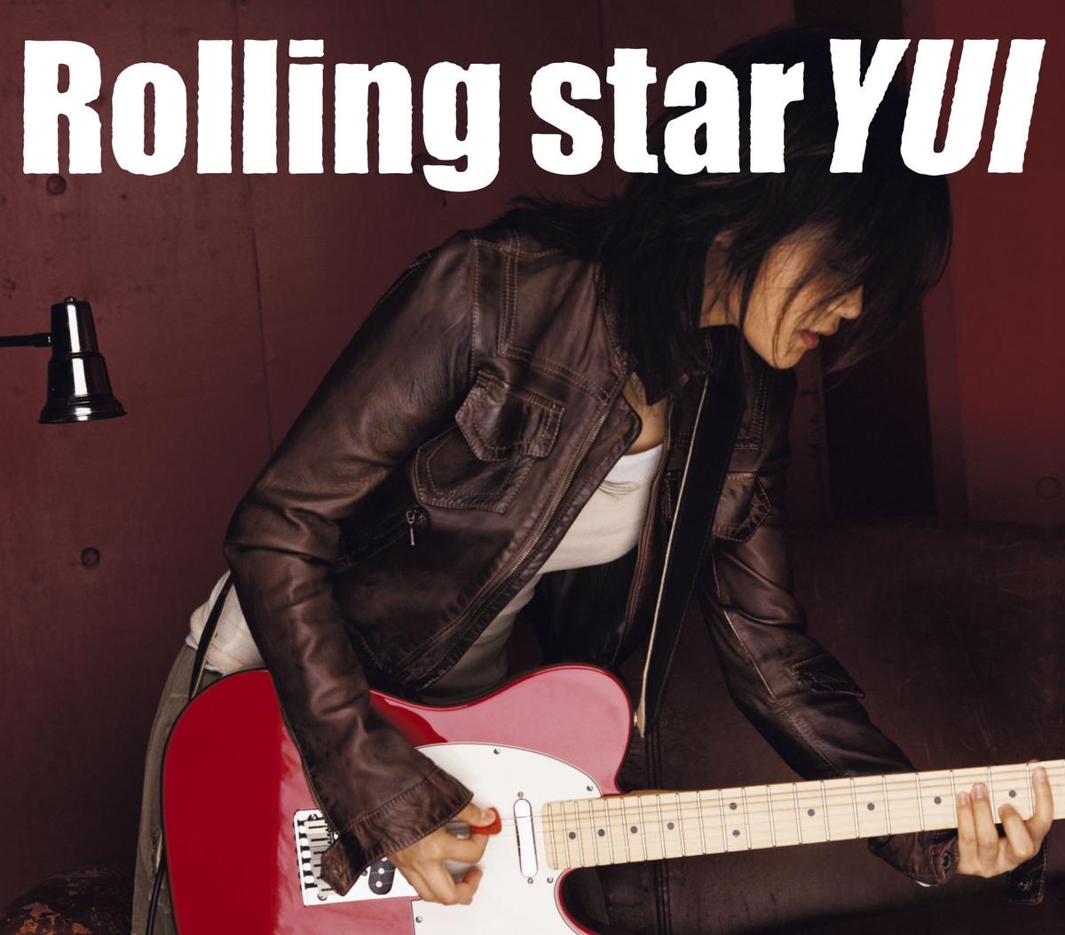 YUIの『Rolling star』の高画質ジャケット画像