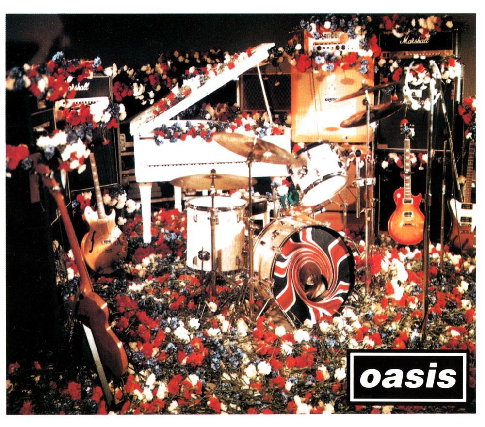 oasis DON't LOOK BACK IN ANGERのジャケット画像
