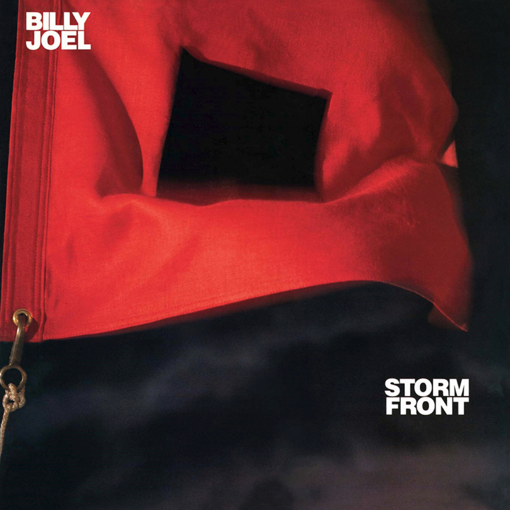 BILLY JOEL (ビリー・ジョエル)『STORM FRONT』ジャケット画像