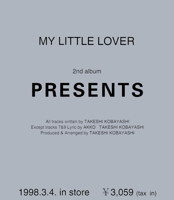 MY LITTLE LOVER『PRESENTS (非売品)』ジャケットの画像