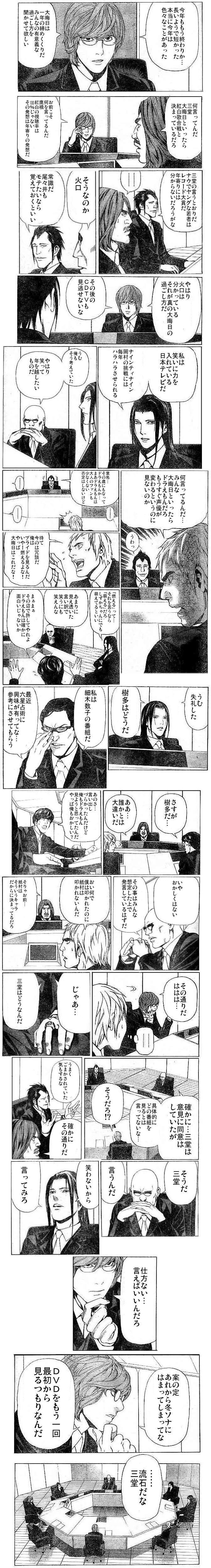 ヨツバ社員「大晦日会議」2004